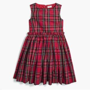 Crewcuts Tartan Plaid Sleeveless Dress
